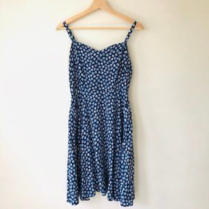Old Navy Blue & White Floral dress